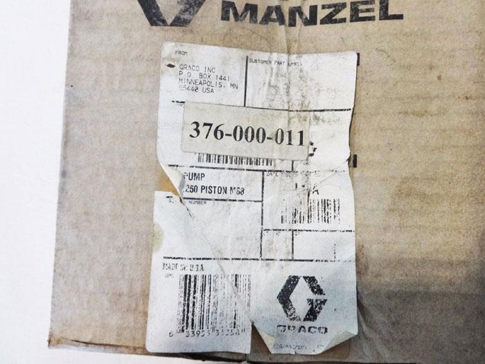 "GRACO 1/4"" K10A MANZEL LUBRIQUIP LUBRICATOR 376-000-011"