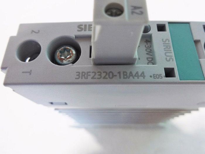 LOT OF (2) SIEMENS SIRIUS SEMI-CONDUCTOR CONTACTOR 3RF2320-1BA44