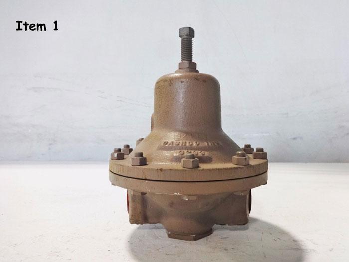 "CASHCO 1"" CF8M BACK PRESSURE RELIEF VALVE TYPE FR"