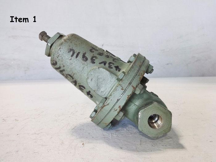 "CASHCO 1/2"" WCB PRESSURE REDUCING REGULATOR TYPE 1000HP-13"