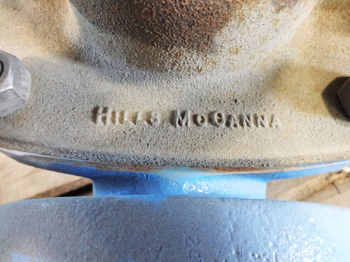 "HILLS MCCANNA ROCKWELL 2-1/2"" DIAPHRAGM VALVE J29"