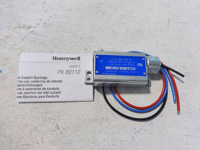 HONEYWELL MICRO SWITCH BZLN-LH 1206
