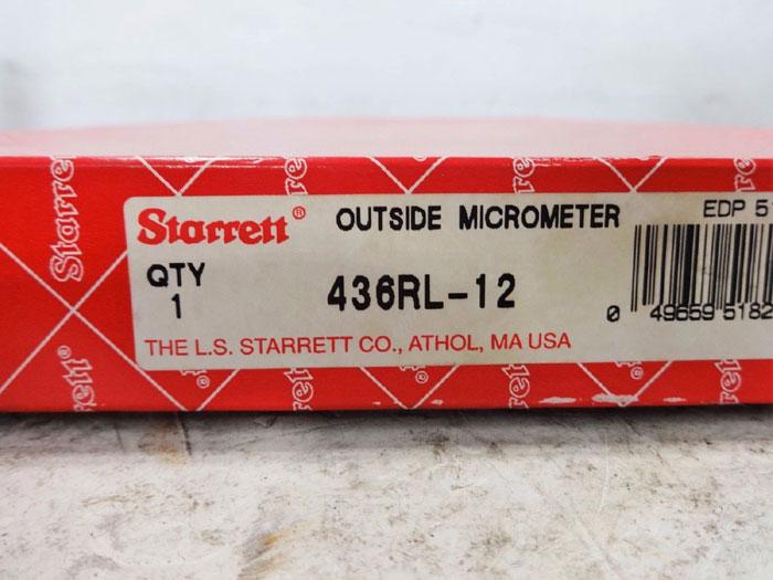 STARRETT MICROMETER 436RL-11