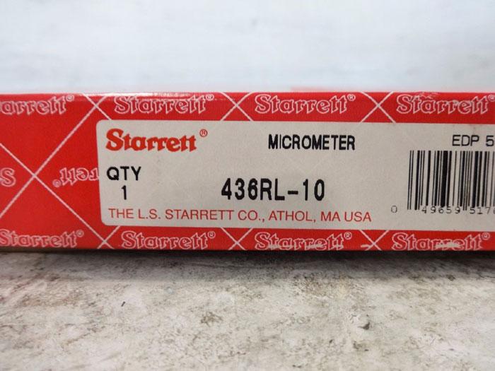 STARRETT MICROMETER 436RL-10