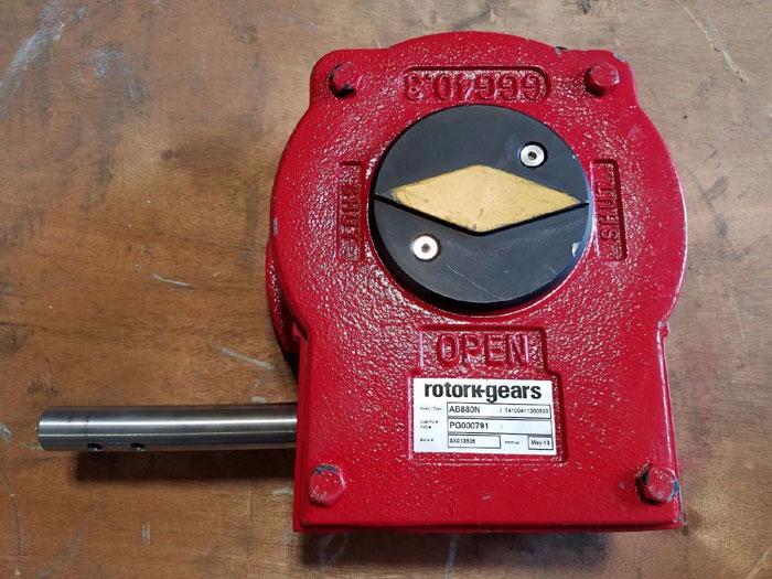 ROTORK QUARTER TURN MANUAL GEARBOX AB880N