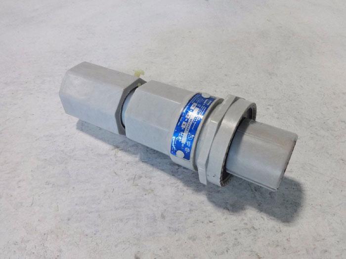 COOPER CROUSE HINDS ARKTITE HEAVY DUTY PLUG 600 VAC 30 AMP 4-POLE NPJ3484