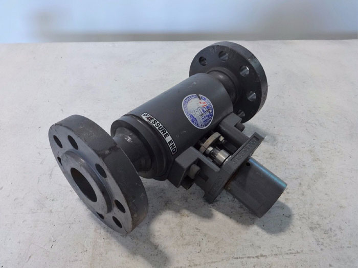 "MOGAS 2"" 600# HIGH PRESSURE FLANGED BALL VALVE RSVP-UF"