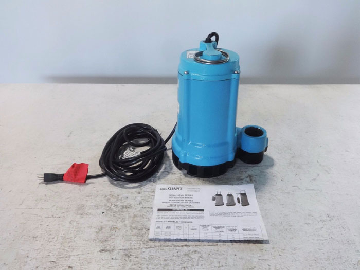 LITTLE GIANT EFFLUENT SUMP PUMP 9ENH-CIM PART# 509231