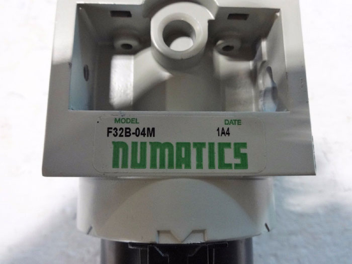 LOT OF NUMATICS PARTICULATE FILTER F32B-04M & COALESCING FILTER F32D-04M