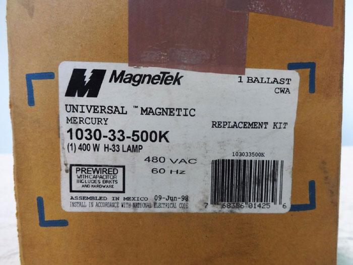 LOT OF (3) MAGNETEK UNIVERSAL MERCURY BALLAST REPLACEMENT KIT 1030-33-500K