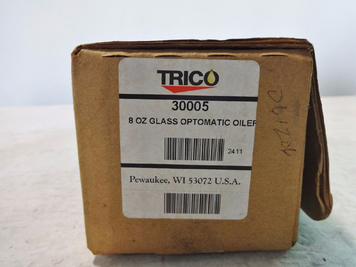 LOT OF TRICO GLASS OPTO-MATIC OILERS 30005, 30002 & P-SUMP