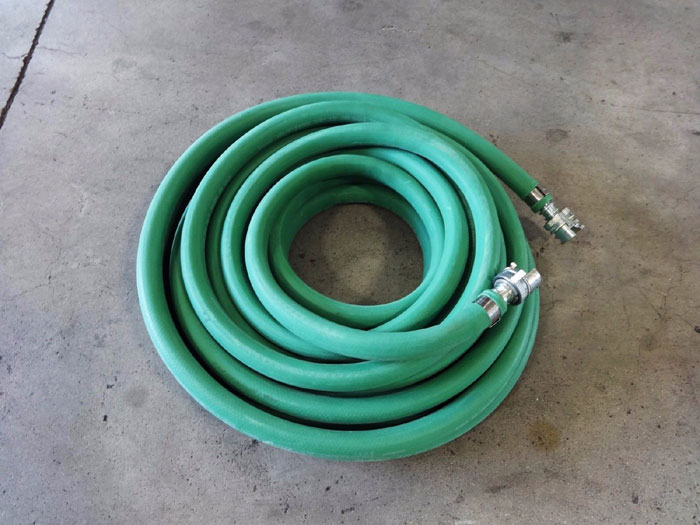 "LOT OF (3) THERMOID VALUFLEX 3/4"" x 50FT MULTIPURPOSE AIR WATER HOSE 114812551"
