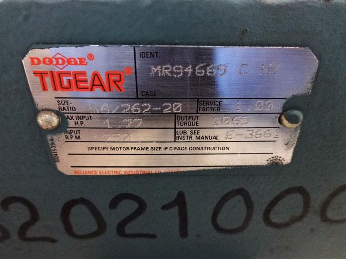 DODGE 262 TIGEAR RELIALUBE REDUCER MR94669