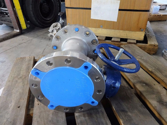 """QUADRANT 6"""" 300# 316 STAINLESS STEEL BALL VALVE F1RSSRGG03F600  W/ ACTUATOR"""