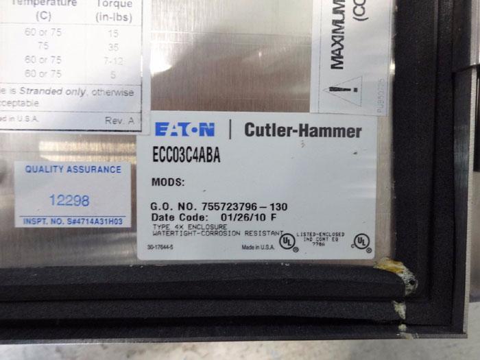 Eaton Cutler Hammer Enclosure Ecc03c4aba W Lighting
