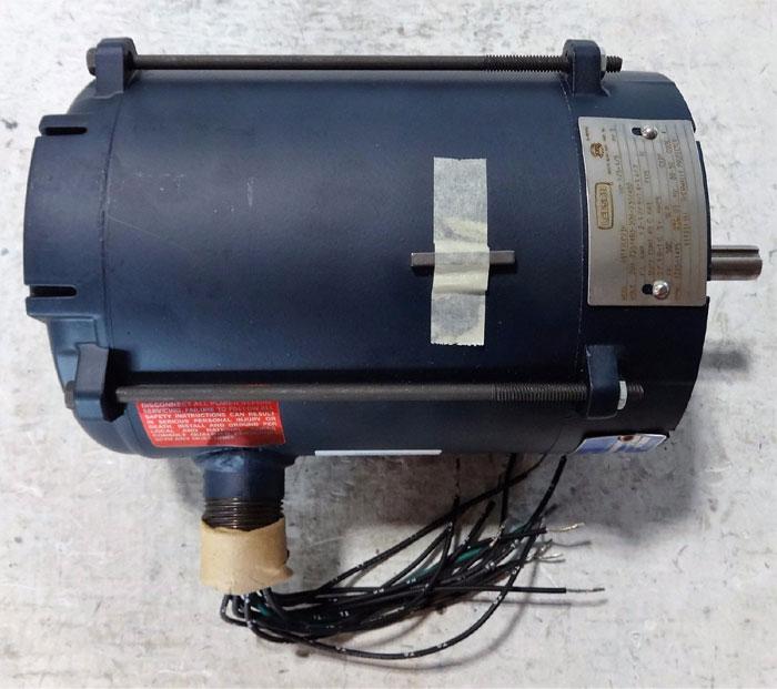 LEESON 1/3 HP ELECTRIC MOTOR MODEL A6T17EC23H CATALOG 111931.00
