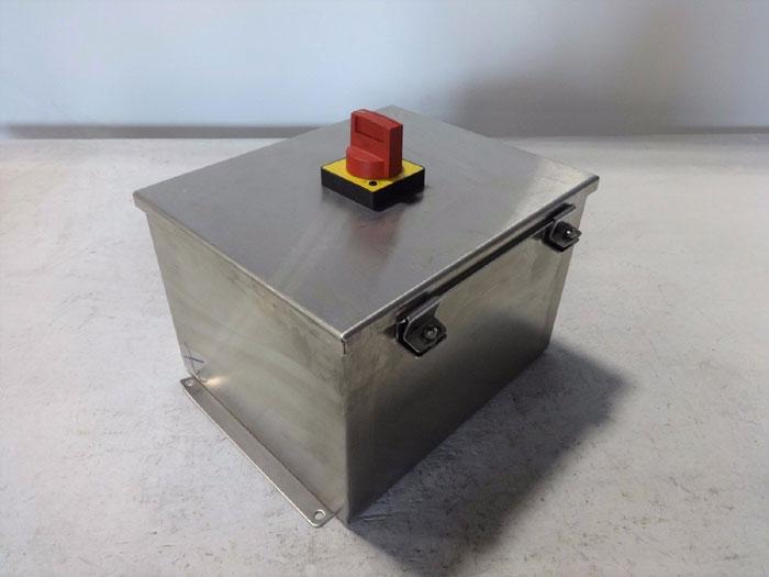 SPRECHER & SCHUH MOTOR CIRCUIT CONTROLLER KTA7-255-2.5A W/ SAGINAW ENCLOSURE