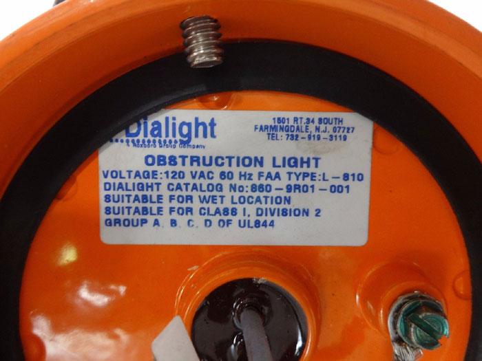 DIALIGHT OBSTRUCTION LIGHT 860-9R01-001