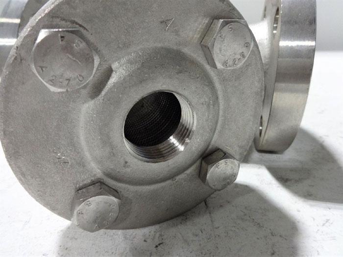"""SPIRAX SARCO 1-1/2"""" 300# AUSTENITIC STAINLESS STEEL STRAINER FIG36"""