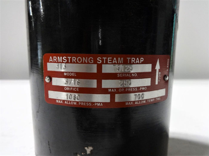 ARMSTRONG 313 INVERTED STEAM TRAP