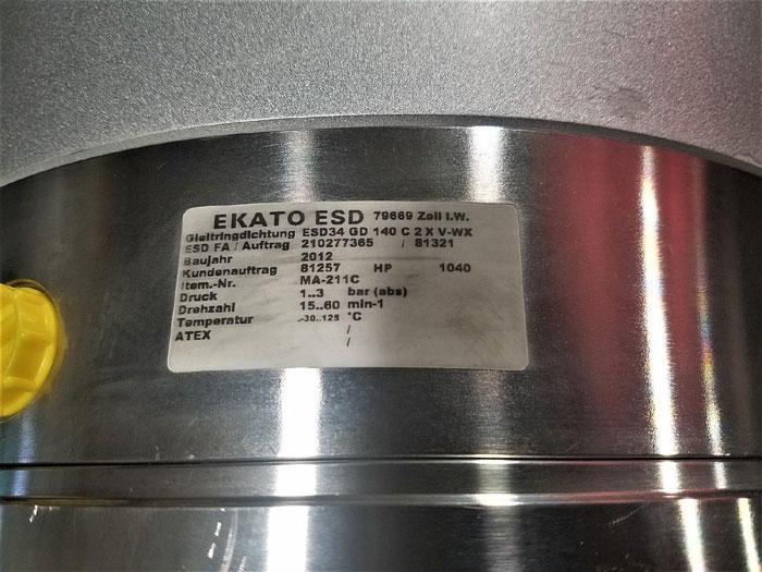 EKATO ESD34G/140 MECHANICAL SEAL TYPE ESD34 DG 140 C 2 X V-WX