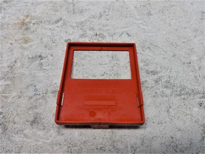 LOT OF (26) PCS BRADY 65966 CLAMP-ON CIRCUIT BREAKER LOCKOUT 480-600V
