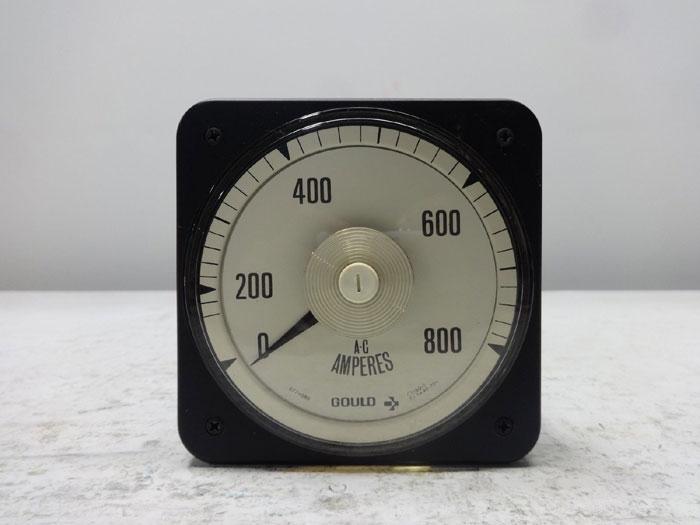 GOULD 0 - 800 AC AMMETER 573210220
