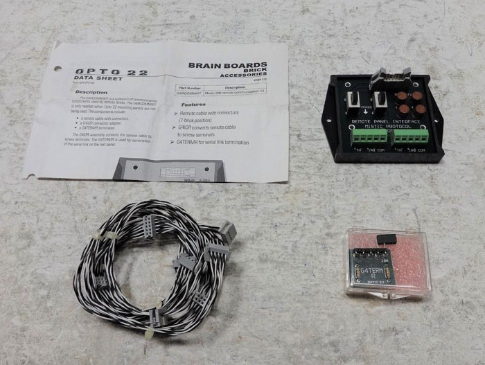 OPTO 22 REMOTE PANEL INTERFACE MISTIC PROTOCOL G4IOR