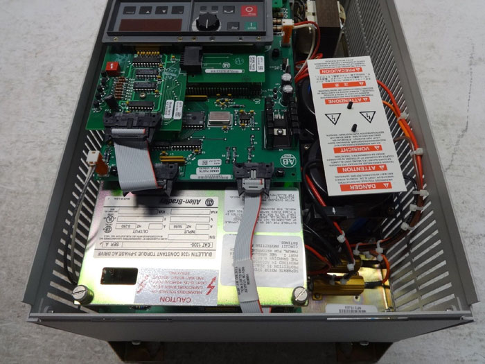 ALLEN BRADLEY CONSTANT TORQUE 3 PHASE AC DRIVE 1336-B003-EAD-FA2-L3