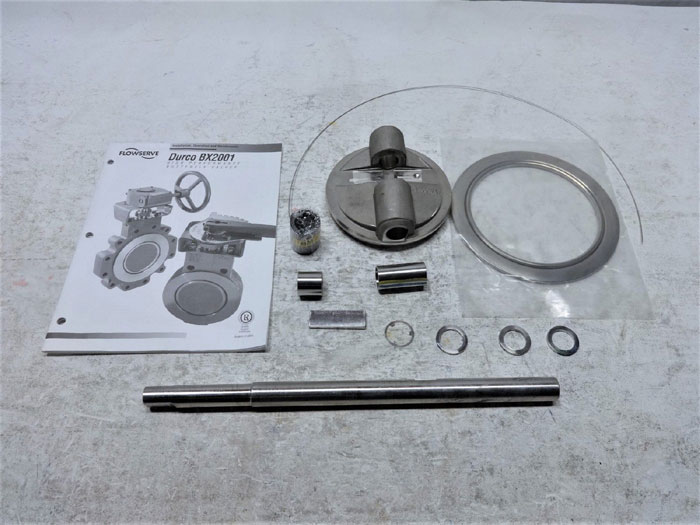 "DURCO REPAIR KIT FOR 6"" BUTTERFLY VALVE - DISC, SHAFT, THRUST BEARINGS & MORE"
