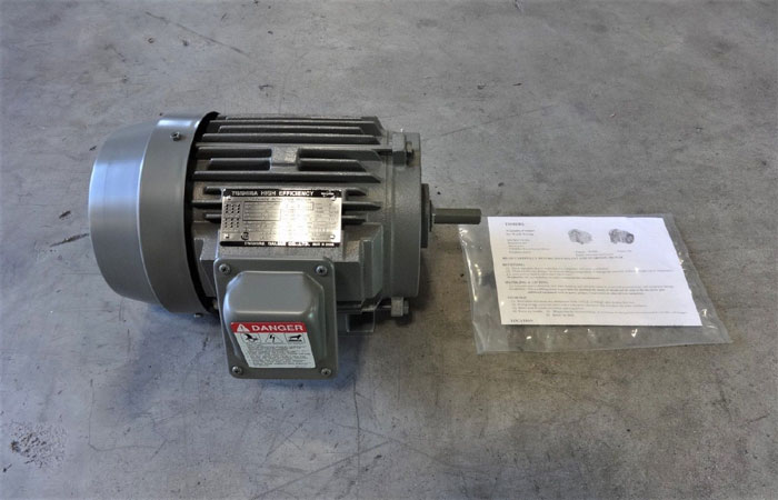 TOSHIBA HIGH EFFICIENCY 2 HP 3-PHASE INDUCTION MOTOR B0024FLF2AOZ