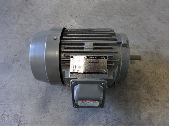 TOSHIBA HIGH EFFICIENCY 2 HP 3-PHASE INDUCTION MOTOR B0024FLF2AOZ