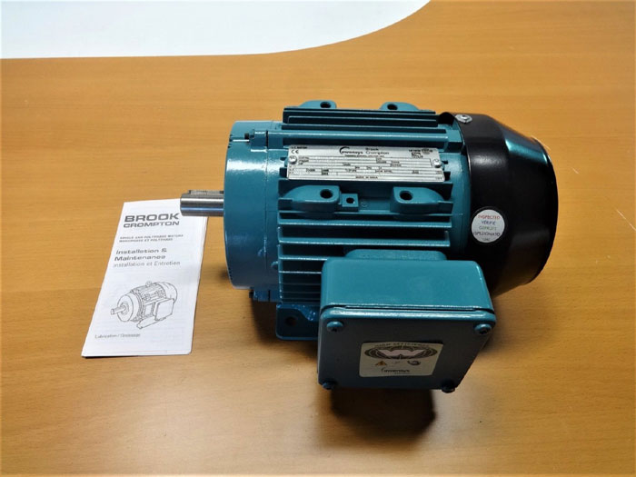 INVENSYS BROOK CROMPTON 1 HP AC MOTOR 5927205WA-00