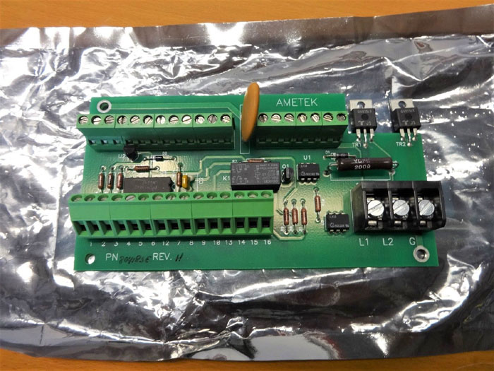AMETEK CIRCUIT BOARD (PC ADD ON BOARD) 80418SE