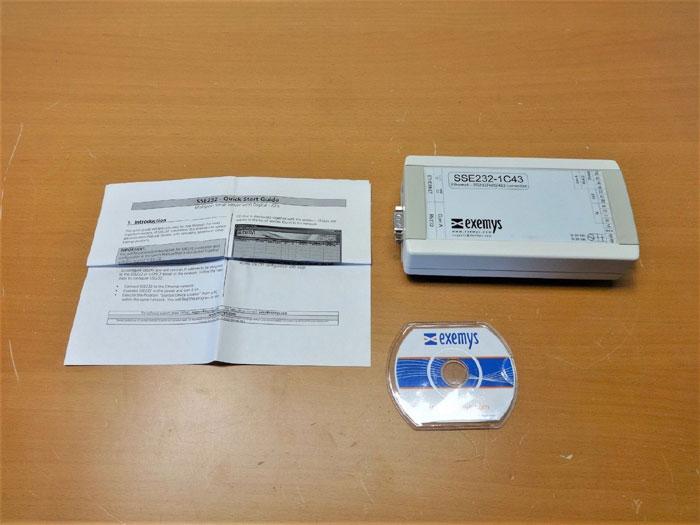 EXEMYS ETHERNET RS232/485/422 CONVERTER SSE232-1C43