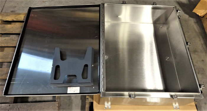 """HOFFMAN A36H3012SS6LP STAINLESS STEEL ENCLOSURE 36"""" x 30"""" x 12"""""""