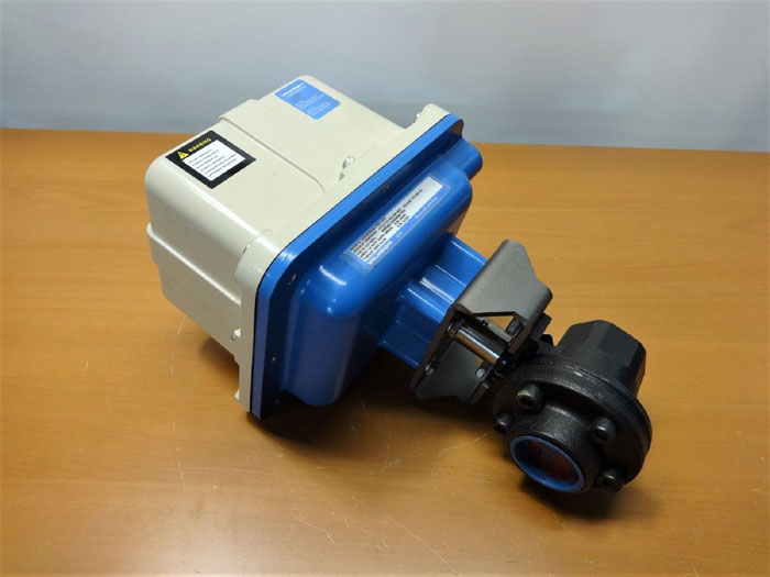 "2"" ACTUATED BALL VALVE W/ VALVCON ACTUATOR LADCW2000L3TN115AC"