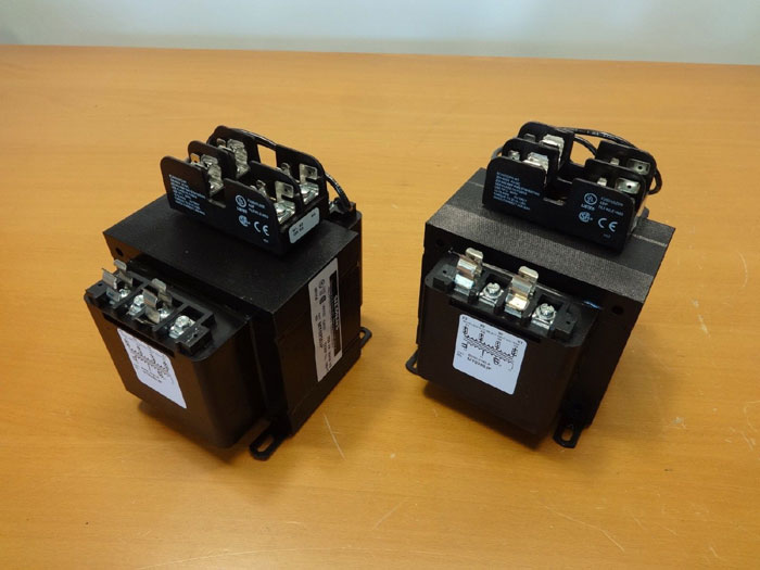 LOT OF (2) SIEMENS CONTROL TRANSFORMERS MT0250JP