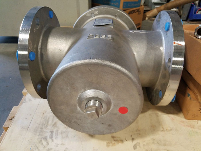 "SUREFLOW 6"" 150# STAINLESS STEEL FLANGED STRAINER BF150SS J"