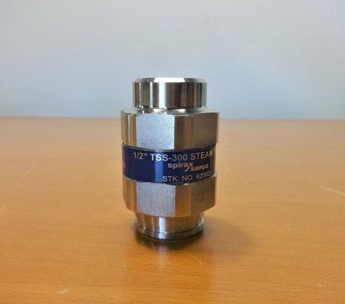 "SPIRAX SARCO TSS-300 THERMOSTATIC STEAM TRAP 1/2"" NPT , STOCK# 62002"