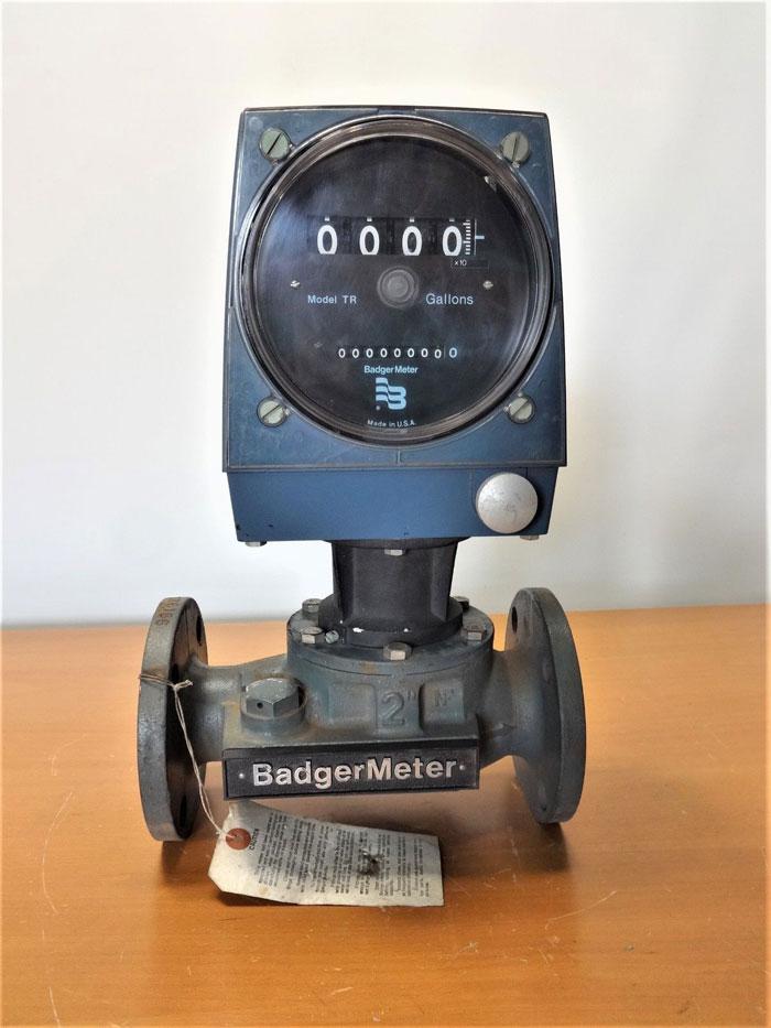 "BADGER METER 2"" FLOW METER - MODEL# TR - PART# 58000-2"
