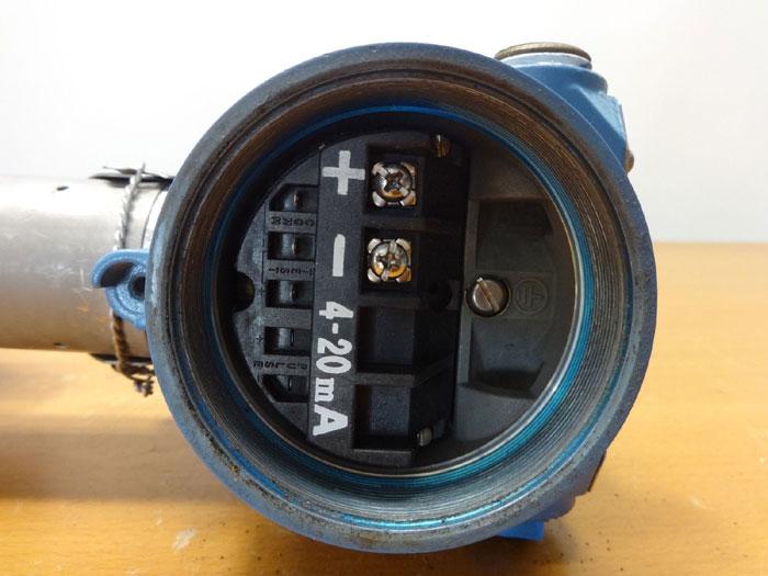 "ROSEMOUNT 2"" VORTEX FLOWMETER 8800 W020SA1N1D1M5"