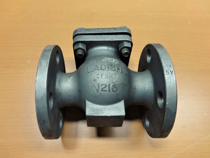 "LADISH 1"" 150# CF8M SWING CHECK VALVE 5272-1807-10A"