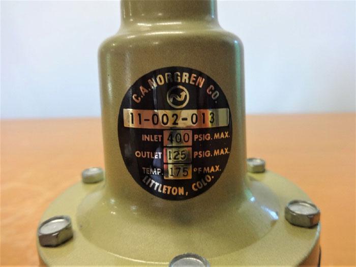 NORGREN 400 PSIG REGULATOR 11-002-013
