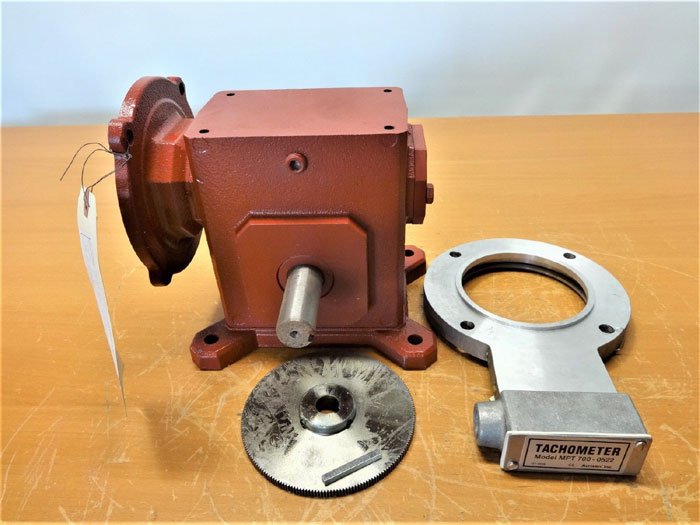ACRISON WORM REDUCER GEAR DRIVE TMQ220-15-3-56C, PART# 207-1031