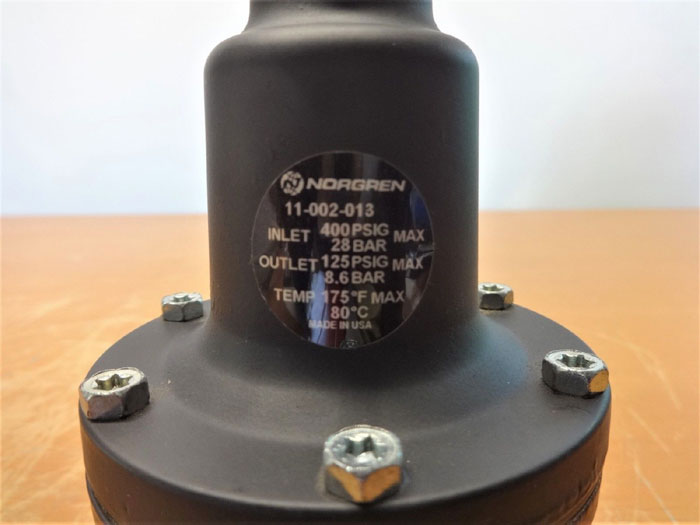 NORGREN 400 PSIG PRESSURE REGULATOR 11-002-013