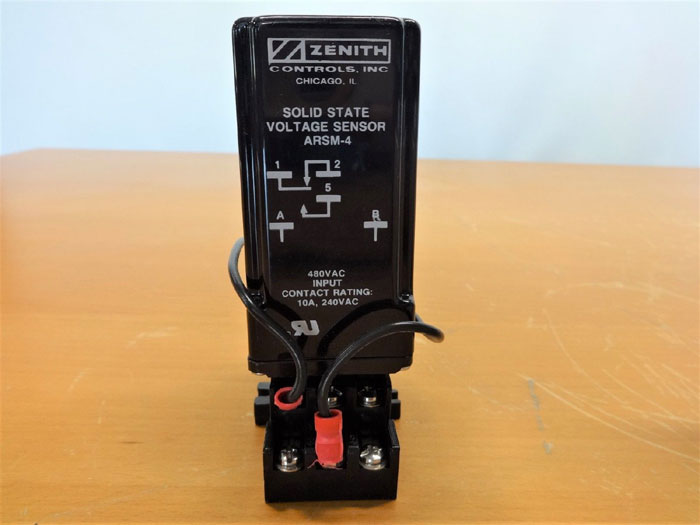 ZENITH CONTROLS INC. SOLID STATE VOLTAGE SENSOR ARSM-4