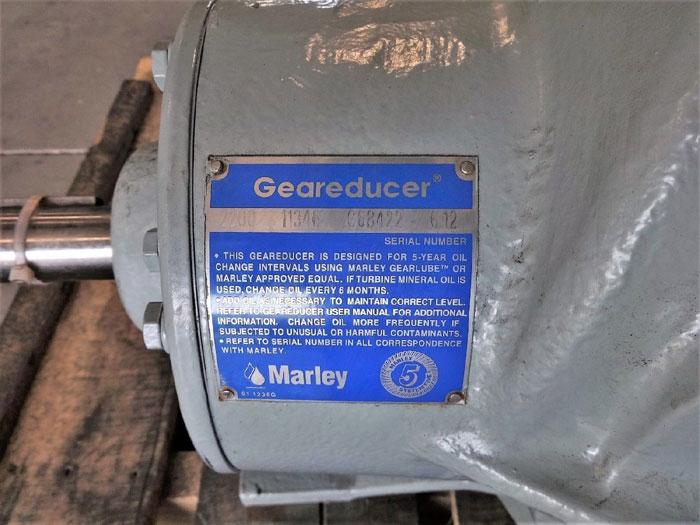 MARLEY GEAR REDUCER 2200 11346 C68422 6.12