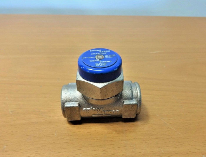 "SPIRAX SARCO 1/2"" COOL BLUE TD52L THERMODYNAMIC STEAM TRAP 54771C"