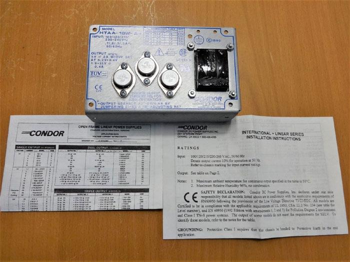 CONDOR POWER SUPPLY H7AA-16W-A+